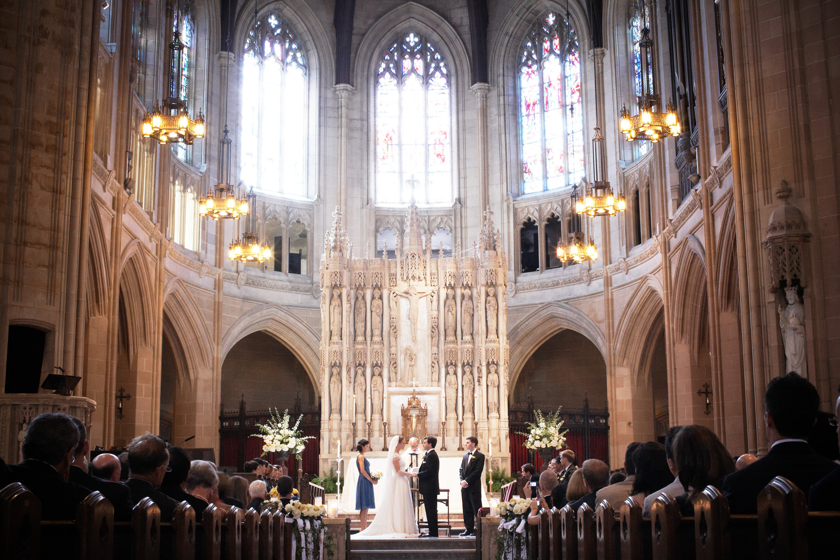 Wedding Ceremony at Saint Dominic