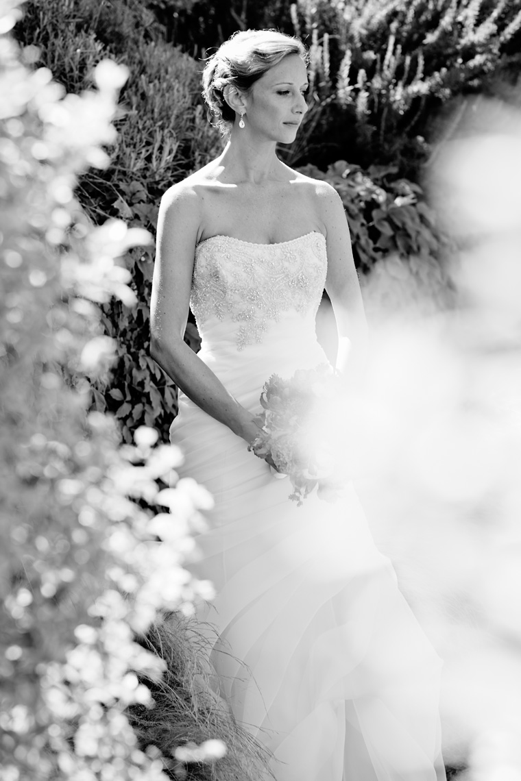 Portrait of Bride in Palo Alto, California