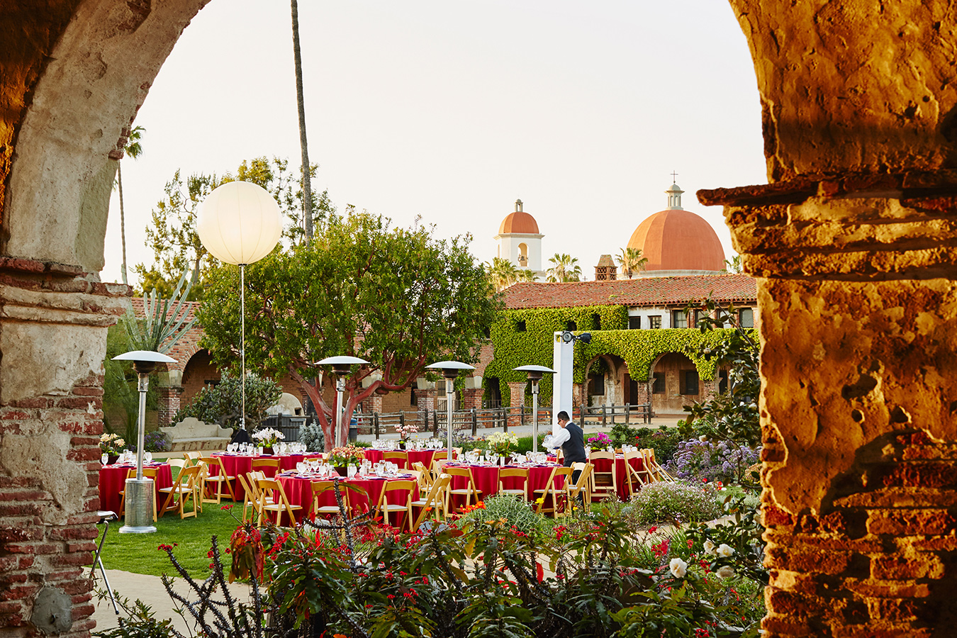Corporate event at The Mission, San Juan Capistrano